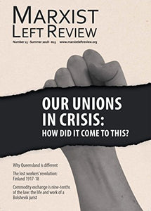 Marxist Left Review #15