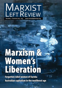 Marxist Left Review #7