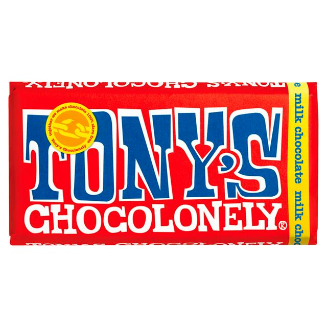 Tony's Chocolonely Fairtrade Milk Chocolate 180g