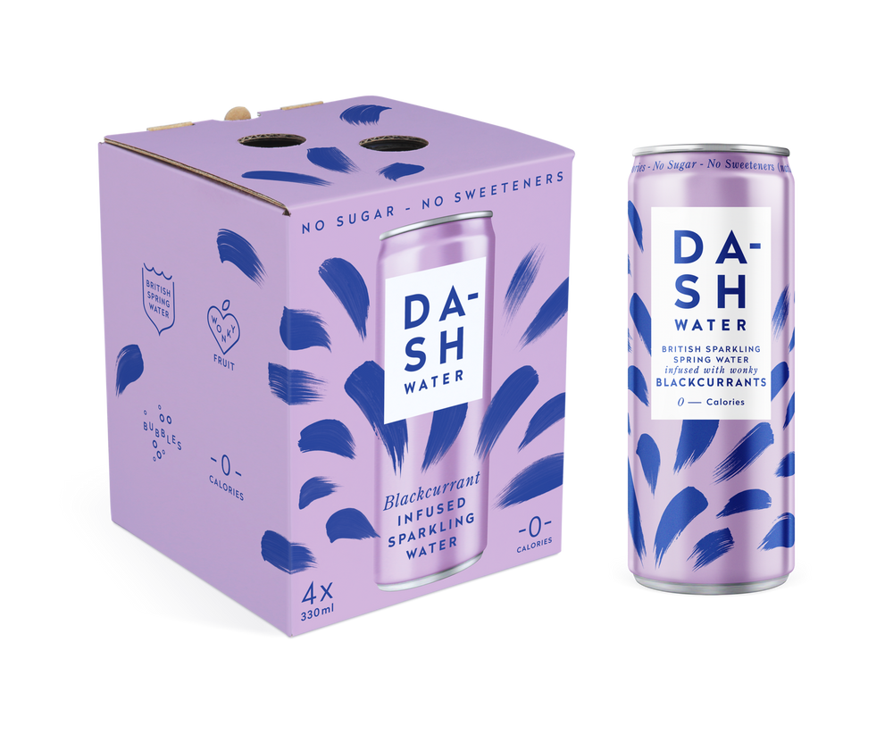 Dash Water Blackcurrant (330ml)