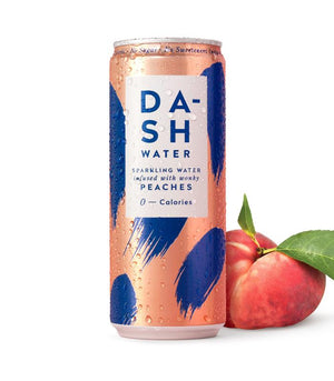 Dash Water Peach (330ml)