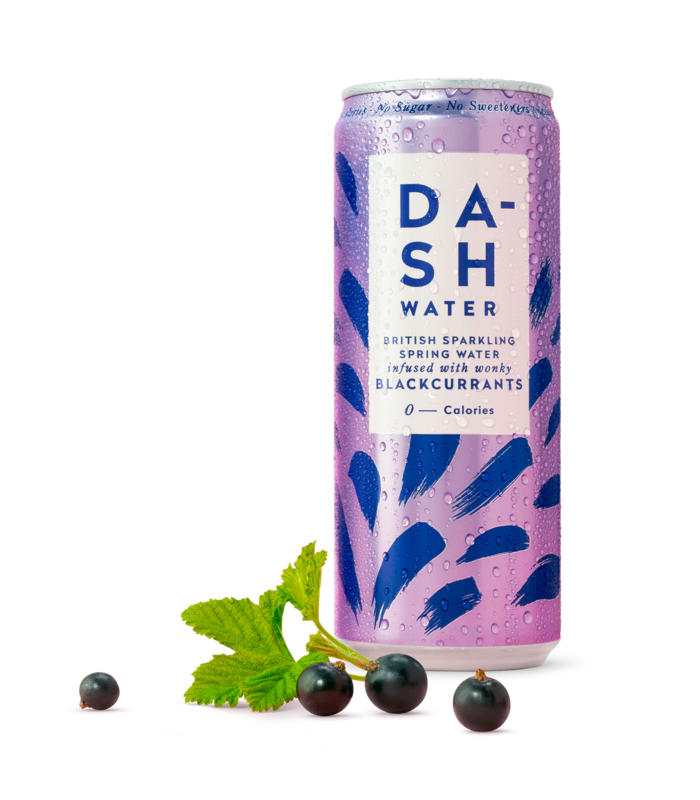 Load image into Gallery viewer, Dash Water Blackcurrant (330ml)