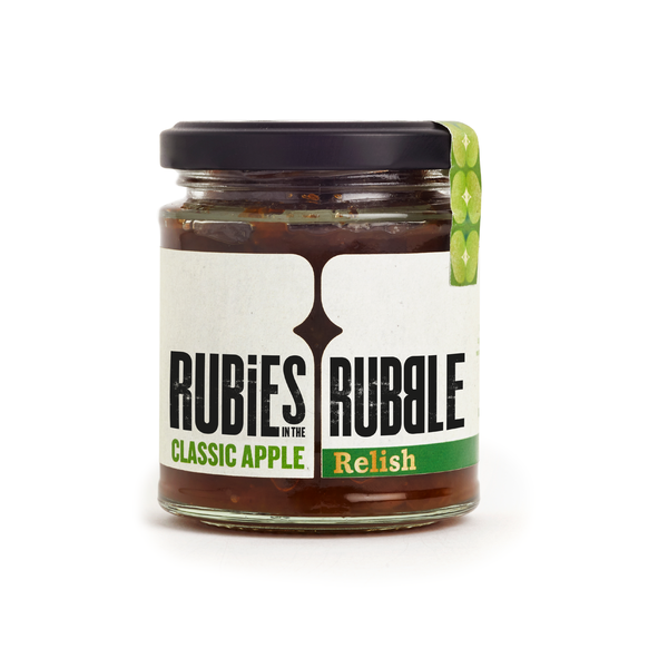 Rubies In The Rubble Spicy, Classic Apple Relish (210g)