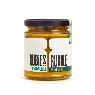 Rubies In The Rubble Spicy, Piccalilli Relish (190g)