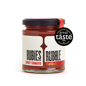 Rubies In The Rubble Spicy Tomato Relish (210g)
