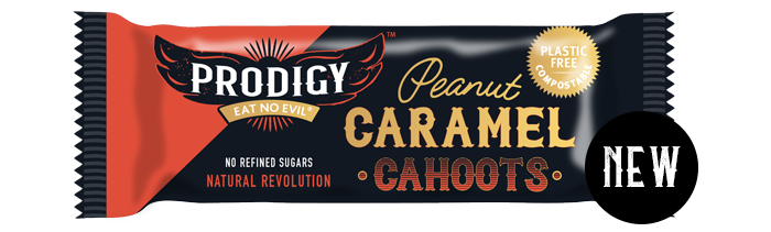 Load image into Gallery viewer, Prodigy Peanut & Caramel Cahoots Chocolate Bar