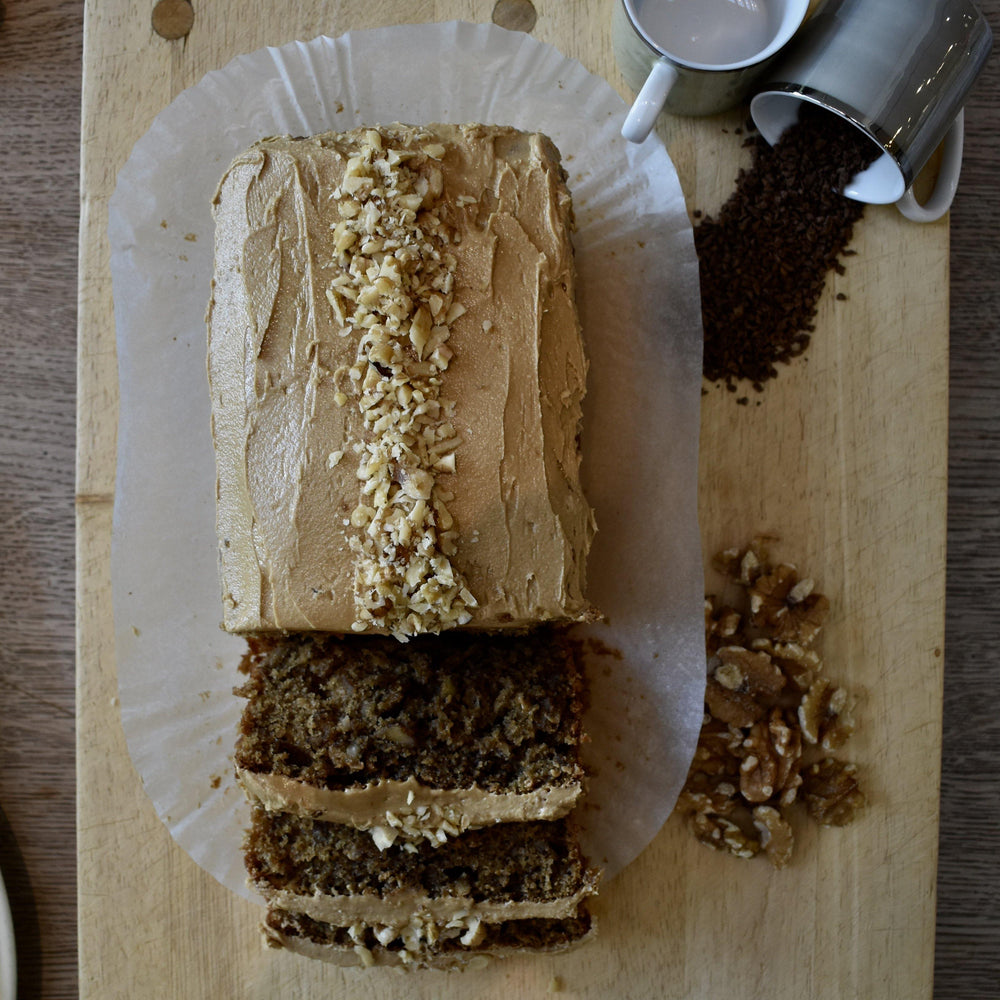 Coffee and Walnut Loaf