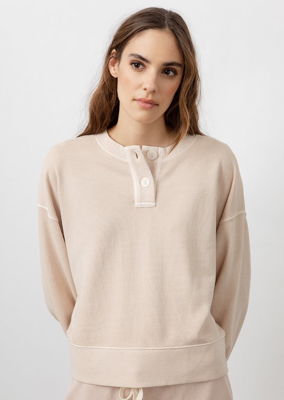 Erin Sweatshirt In Putty