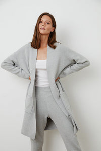 Adore Heather Grey Duster