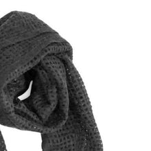 Load image into Gallery viewer, Akari Cashmere Shawl in Black