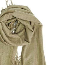 Load image into Gallery viewer, Amaya Cashmere Shawl in Caramel