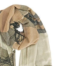 Load image into Gallery viewer, Amaya Cashmere Shawl in Multi-Stripe