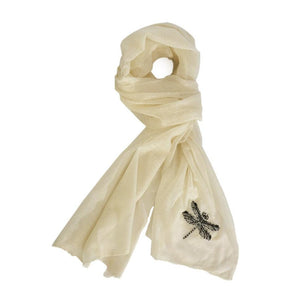 Insecta Dragonfly Cashmere Scarf