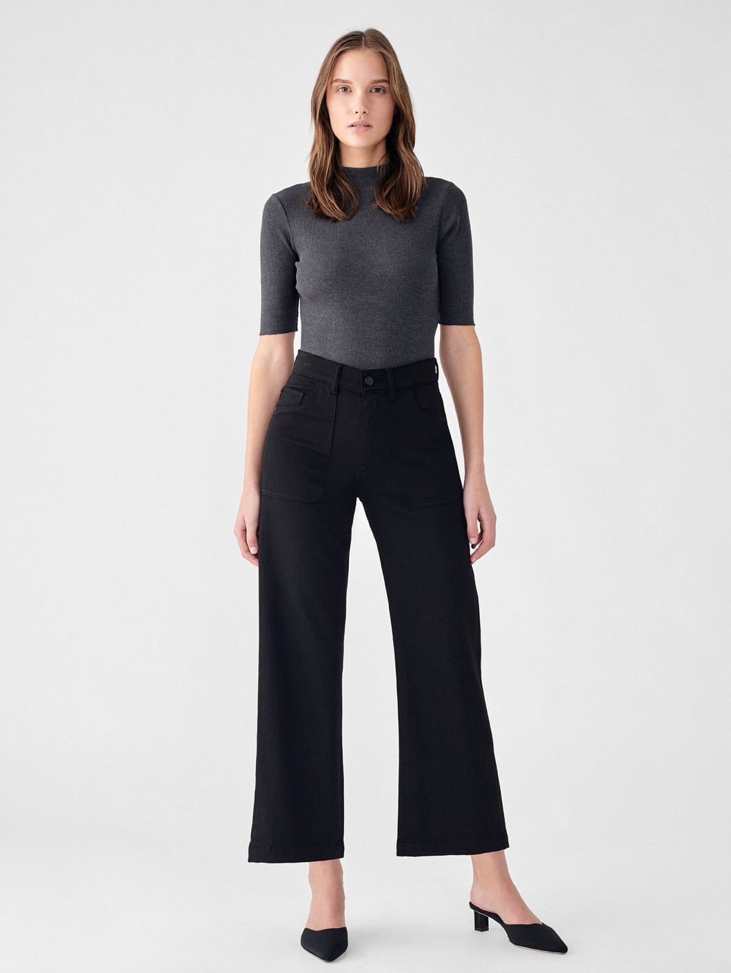 Hepburn Wide Leg Blackwell