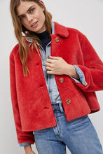 Load image into Gallery viewer, LUCILLA FAUX FUR COAT