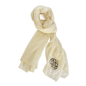 Insecta Lady Bug Cashmere Scarf