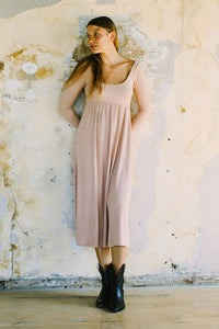 Rib Lauren Dress in Maple Sugar