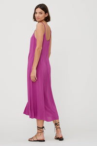 Stevie Slip Dress Pansy