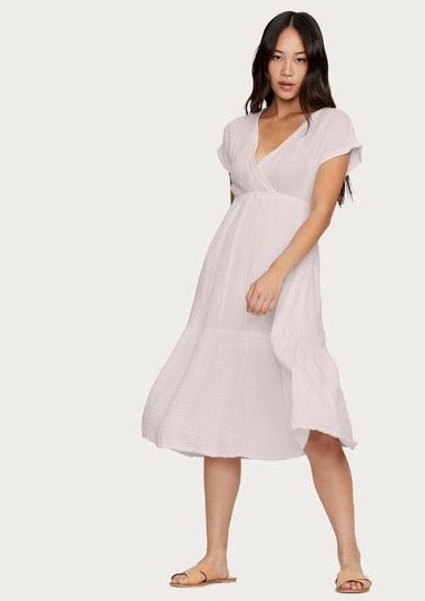 Illana Surplice Dress