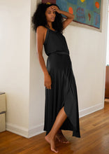 Load image into Gallery viewer, Giorgia Wrap Skirt Black