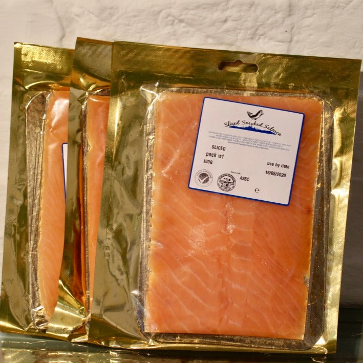 Sliced Smoked Salmon 100g