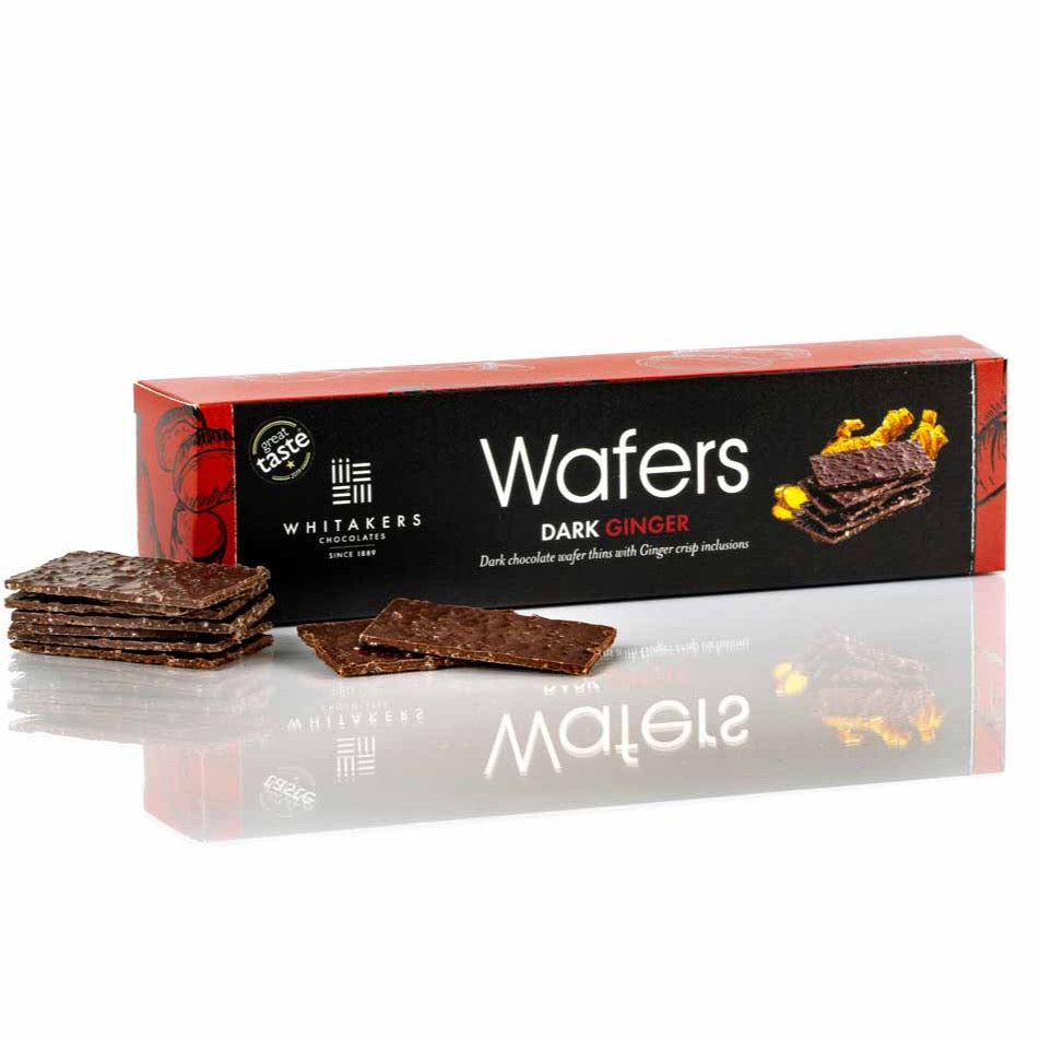 Dark ginger wafers