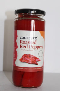 Roasted Red Pepper in red wine vinegar.