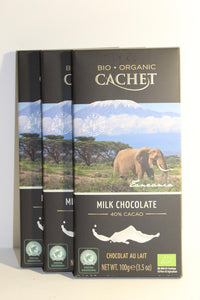 Cachet Milk Chocolate