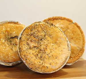 Peppered Chicken, Ham & Mushroom Pie