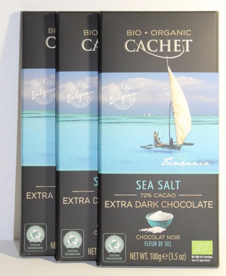 Sea Salt 72% Extra Dark Chocolate