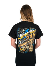 Load image into Gallery viewer, Gold Speed Demon 8x Hot Rod Trophy T shirt