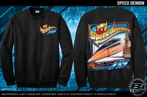 Retro Speed Demon Sweatshirt