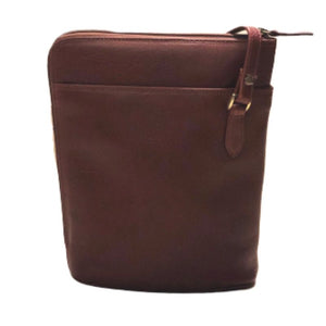 Whiskey bucket bag by Derek Alexander with an adjustable shoulder strap