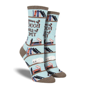 Women's Time For A Good Book Socks