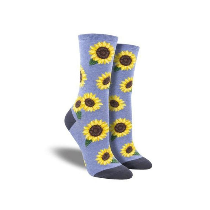 soft purple softs with sunflower pattern