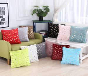 Feather Plush Cushion Covers