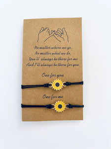 Sunflower Friendship Bracelets