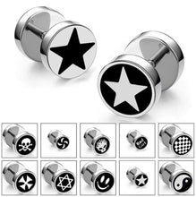 Load image into Gallery viewer, Stud Earrings - Round