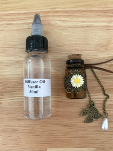 Diffuser Bottles + Fragrant Oil
