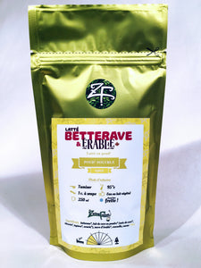 Latté betterave et érable