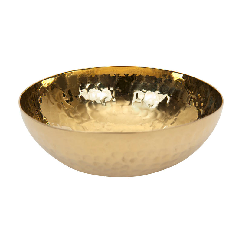 ZAKKIA | Hammered Bowl - Brass
