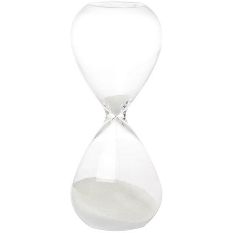 White Hourglass - Small