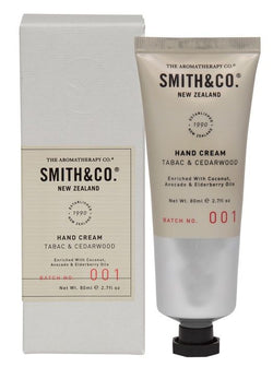 Smith & Co Hand Cream Tabac & Cedarwood
