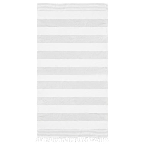 SUNBLAST HAMAM TOWEL - LIGHT GREY