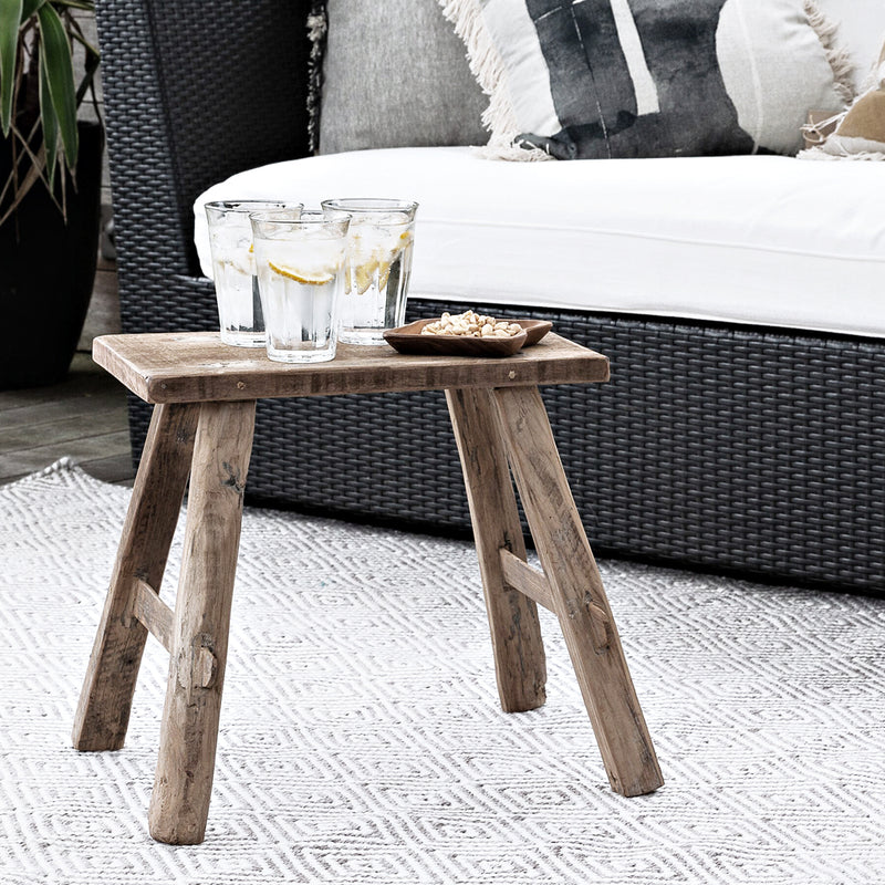 TEAK BENCH SMALL NATURAL