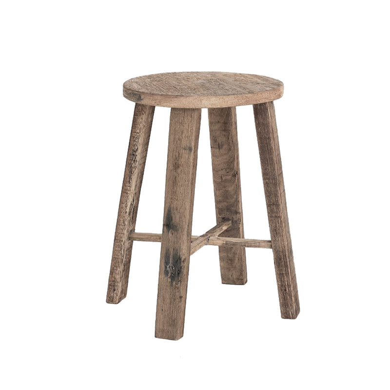 TEAK BAR STOOL NATURAL - 65cm