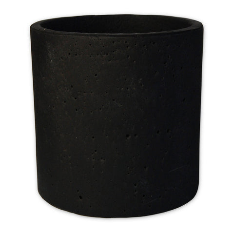 Concrete Pot - Large Black