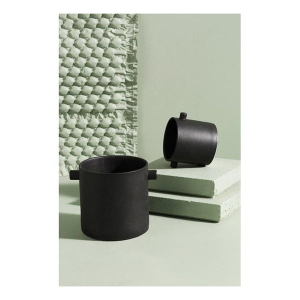 Handle Pot - Small Black