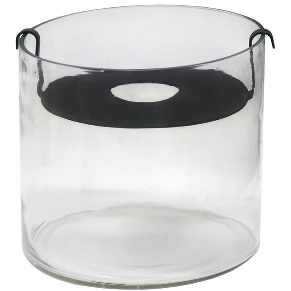 ZAKKIA | Botanical Vase - Small Black