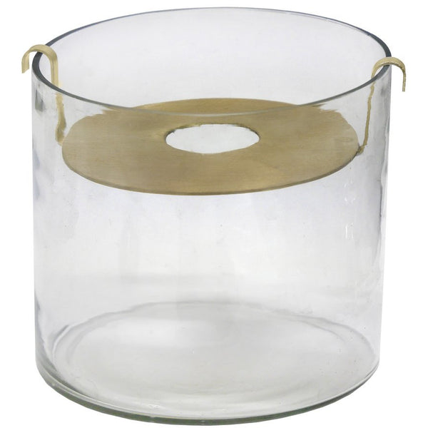 ZAKKIA Botanical Vase - Small Brass
